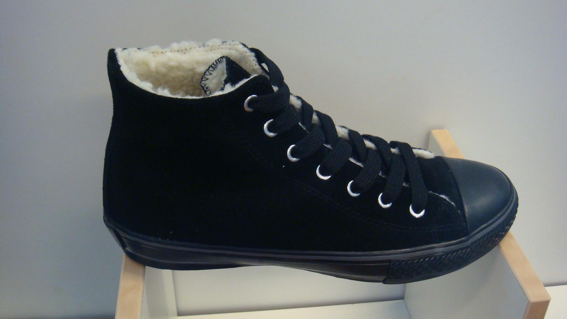 varmfodrade sneakers dam