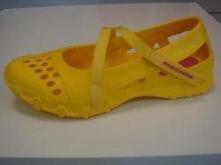 Skechers ballerina i plast gul eller röd