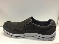 """Mocka-sko, herr från Skechers, innersula """"Memory Foam"""" Relaxed fit."""