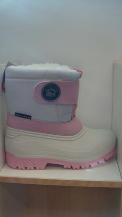 Snowjogging, rosa/vit